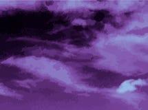 Violet background. Dark violet smudges shades vector background stock illustration