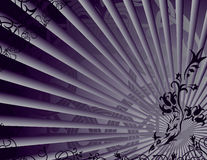 Violet background with fantasy elements Stock Images