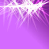 Violet background with flares Royalty Free Stock Photography