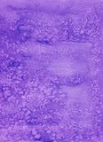 Violet background with soft blurred sea salt grunge texture at the borders