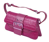Violet bag Stock Photos