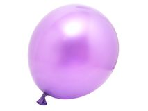 Violet balloon Royalty Free Stock Photo
