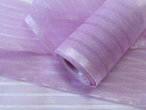 Violet band fabric Stock Photo