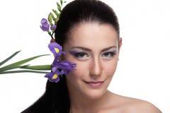 Violet Beauty Stock Photography