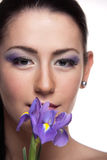 Violet Beauty Royalty Free Stock Images