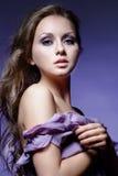 Violet beauty Royalty Free Stock Photo