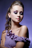 Violet beauty Stock Photos