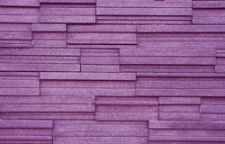 Violet block wall Stock Images