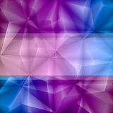 Violet-blue abstract background Royalty Free Stock Photos
