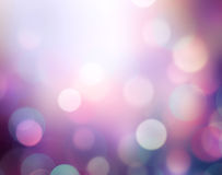 Violet blurdefocused lights illustration background. Stock Images