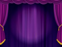 Violet blurry spot Royalty Free Stock Image
