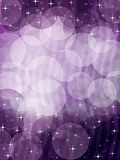 Violet bokeh background stock photography