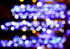Violet bokeh light background Stock Photos
