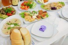 Violet Bonbonniere Stock Image