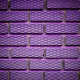 Violet brick. Interior violet brick, possible use to background Stock Photos