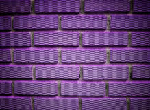 Violet brick Stock Photo