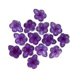 Violet candy of Madrid. Violet candy, hard candy in shape of violet flower, aromatized with Violet Flower Essence, traditionally made in Madrid, Spain Royalty Free Stock Photography
