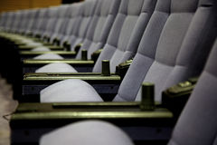 The violet chairs Royalty Free Stock Photography