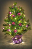 Violet christmas Royalty Free Stock Photo