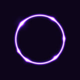 Violet circle effect  background Stock Images