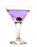 Violet cold cocktail Royalty Free Stock Image