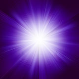 A violet color design with a burst. EPS 8 Stock Image
