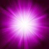 A violet color design with a burst. EPS 8 Stock Photos