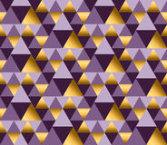 Violet color and gold metal texture vector background. Royalty Free Stock Image