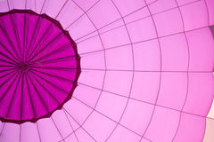 Violet color hot air balloon Stock Images