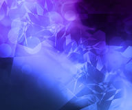 Violet Computer Abstract Background illustration de vecteur