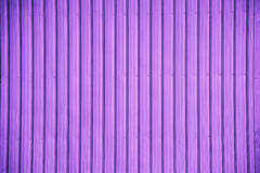 Violet corrugated metal sheet texture background Royalty Free Stock Photo
