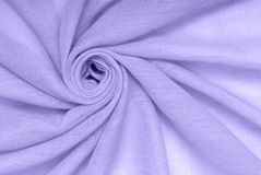 Violet cotton material Stock Photos