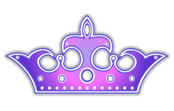 Violet crown Royalty Free Stock Image