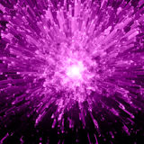 Violet Crystal Explosion Royalty Free Stock Images