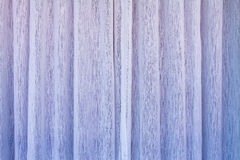 Violet curtains shading the sun Stock Photo