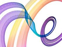 Violet curve Stock Images
