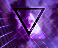 Violet Daft Punk Abstract Background Royalty-vrije Illustratie