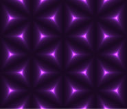 Violet dark low polygon seamless background Royalty Free Stock Photography