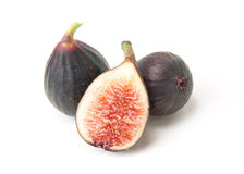 Violet de Bordeaux figs Stock Photography