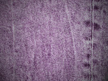 Violet denim texture with empty space for copy Stock Photo