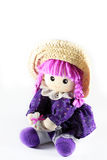 Violet doll Royalty Free Stock Images