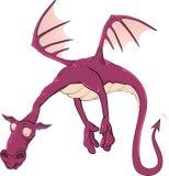 Violet dragon Royalty Free Stock Image
