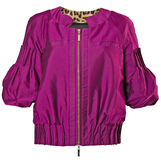 Violet dress jacket Stock Photos