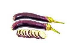 Violet Eggplant Stock Image