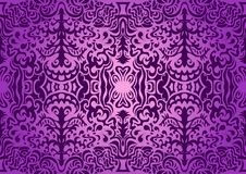 Violet elegant seamless pattern Royalty Free Stock Photo