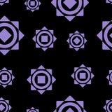 Violet elements Stock Images