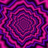Violet expanding pattern. Crazy violet expanding pattern as nice wallpaper Royalty Free Stock Photo