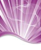 Violet exploded background Stock Image
