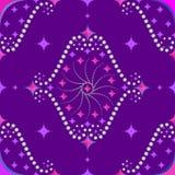 Violet för romb för vektor för modellabstraktiondiagram rosa Royaltyfri Bild