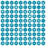 violet för sapphirine för 100 havsymboler Fotografering för Bildbyråer